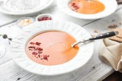 De soep van de linze Stock Foto's