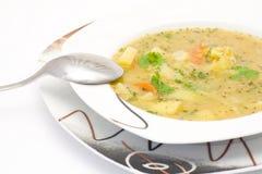 De soep van de linze Stock Afbeelding