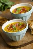 De soep van de meloen royalty-vrije stock afbeelding