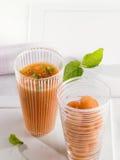 De soep van de meloen Stock Afbeelding