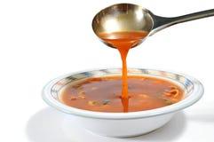 De soep van de minestrone royalty-vrije stock foto's