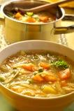 De Soep van de minestrone Stock Afbeelding