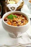 De Soep van de minestrone stock foto's