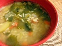 De soep van de netel stock foto