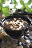 De soep van de noedel Stock Foto's