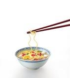 De soep van de noedel Stock Fotografie