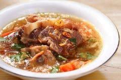 De soep van de ossestaart Stock Foto's