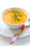 De soep van de pompoen Royalty-vrije Stock Fotografie