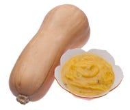 De Soep van de Pompoen van Butternut Royalty-vrije Stock Fotografie
