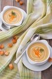 De soep van de room stock foto