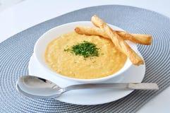 De soep van de room Royalty-vrije Stock Foto's