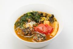 De soep van de slaknoedel Royalty-vrije Stock Foto