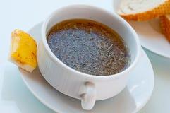 De soep van de ui Stock Foto
