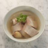 De soep van de varkensvleesbuik Royalty-vrije Stock Fotografie