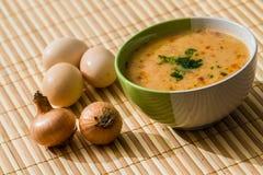 De soep van de vleesbal Stock Fotografie