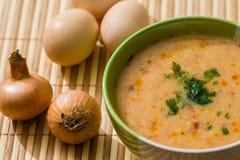 De soep van de vleesbal Stock Afbeelding