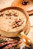 De soep van Emmer en van de gerst Royalty-vrije Stock Afbeelding