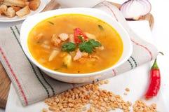 De soep van erwten Stock Afbeelding