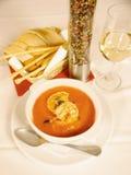 De soep van garnalen Royalty-vrije Stock Afbeelding