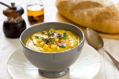 De soep van het graan royalty-vrije stock afbeelding