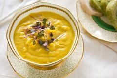 De soep van het graan stock afbeeldingen