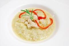 De soep van het knoflook Stock Fotografie