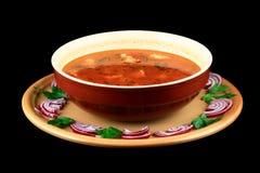 De soep van het rundvlees Stock Fotografie