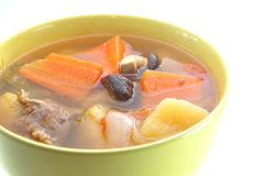 De soep van het vlees Stock Foto's