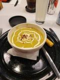 De soep van de Pueblanroom stock afbeelding