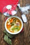De soep van vissen royalty-vrije stock foto