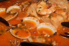 De soep van vissen Royalty-vrije Stock Fotografie