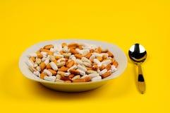 De soep van vitaminen Stock Afbeeldingen