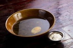 De soep van de de zomerzuring stock fotografie