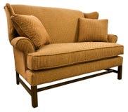 De Sofa Loveseat van de Chippendale stock afbeelding