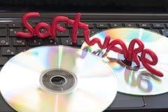 De Software van de computer Stock Fotografie