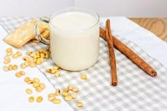 De soja todavía de la leche vida Imagen de archivo