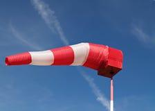 De sok van de wind Stock Foto's