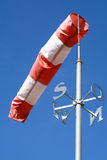 De sok van de wind royalty-vrije stock foto