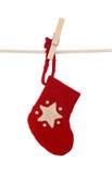 De sok van Kerstmis royalty-vrije stock afbeelding