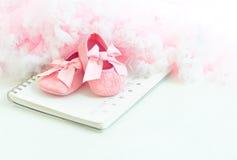 De sokjes van de baby Stock Foto's