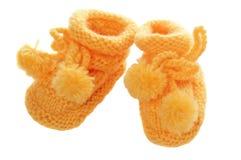 De sokjes van kinderen Stock Fotografie