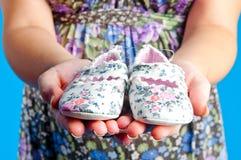 De sokjes van kinderen Stock Foto's