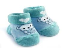 De sokken van de baby stock foto