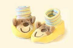 De Sokken van de baby Stock Afbeeldingen