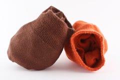 De Sokken van de herfst royalty-vrije stock afbeeldingen