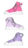 De sokken van het kind of van de baby Royalty-vrije Stock Foto's