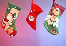 De sokken van Kerstmis Royalty-vrije Stock Foto