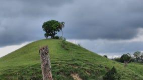 De som sökandet ska finna upptill av berget Royaltyfria Foton