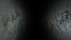 De sombere gang Donker en somber, volledig van geheimen, gang 41 stock afbeeldingen