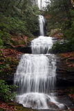 De Soto Falls Photo stock